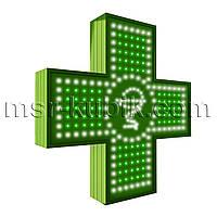 """Аптечный крест 600х600 светодиодный односторонний. Серия """"Bowl of Hygieia"""""""