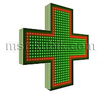 """Крест для аптеки 750х750 светодиодный. Серия """"Standart Plus""""."""