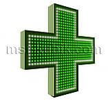 """Хрест для аптеки 750х750 світлодіодний. Серія """"Standart Plus""""., фото 2"""
