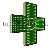 """Аптечный крест 750х750 светодиодный односторонний. Серия """"Twenty-Four"""""""