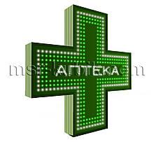 """Аптечний хрест 750х750 світлодіодний односторонній. Серія """"Chemist's"""""""