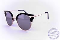 Женские гламурные очки Кошачий глаз - Черные - 1051, фото 1