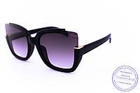 Оригинальные квадратные солнцезащитные очки - Черные - 1520, фото 1