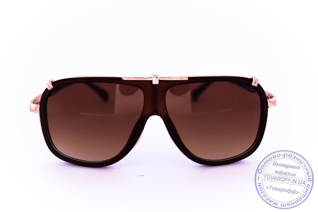 Универсальные солнцезащитные матовые очки в стиле Каррера - Коричневые -  23047 741bb5644d41b