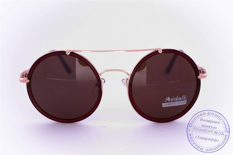 Круглые очки - Коричневые - 53023, фото 2