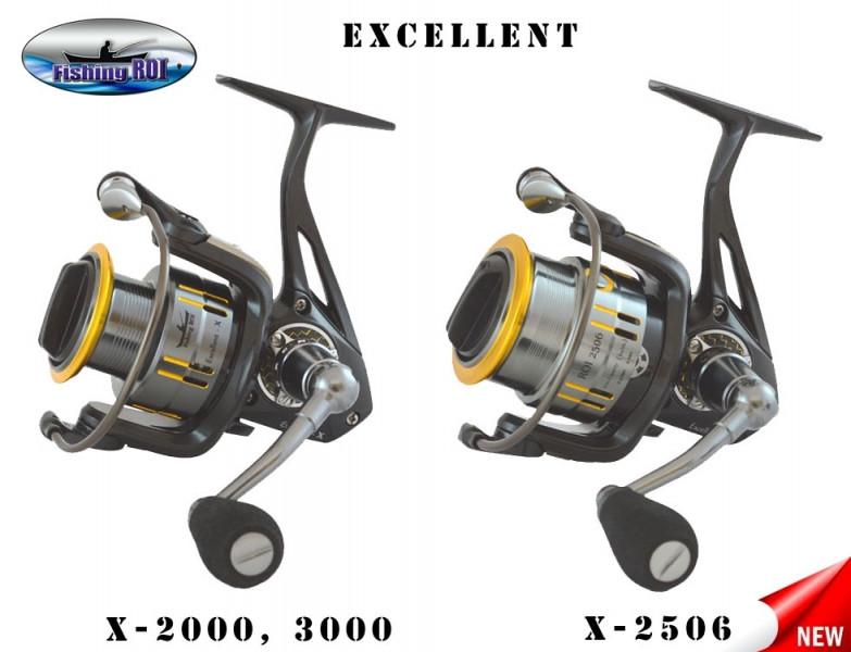 Катушка спиннинговая Excellent-X 2000 8+1