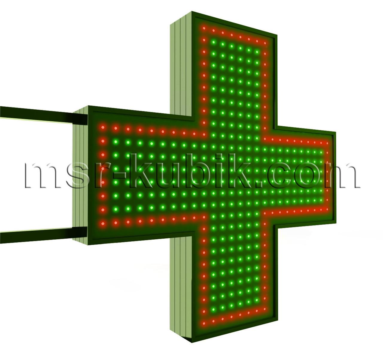 """Світлодіодний аптечний хрест 750х750 мм Серія """"Standart"""""""