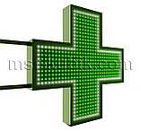 """Аптечний хрест 750х750 мм світлодіодний двосторонній. Серія """"Standart Plus"""", фото 2"""