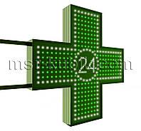 "Крест для аптеки 750х750 мм светодиодный двусторонний. Серия ""Twenty-Four"""
