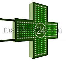 """Хрест для аптеки 750х750 мм світлодіодний двосторонній. Серія """"Twenty-Four"""""""