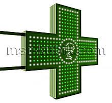 """Хрест аптечний 750х750 мм світлодіодний двосторонній. Серія """"Bowl of Hygieia"""""""