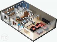 Вентиляция 2-к квартиры