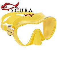 Детская маска для плавания Cressi Sub F1 Junior Yellow