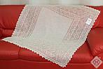 Оренбургский пуховый  платок 115х115 см. Белый., фото 2