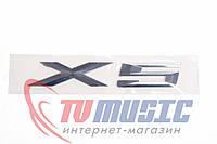 Шильдик ― надпись X5