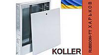 Шкаф встраиваемый для коллекторов теплого пола SWPSE-4 560-660х350х110 Koller