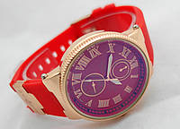 Женские часы - Ulysse Nardin - Le Locle красные, цвет корпуса золото