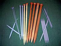 Спицы и крючки для вязания