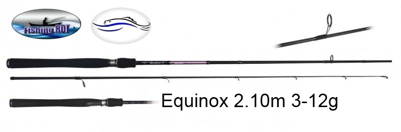 Спиннинг EQUINOX  2.10m 3-12g