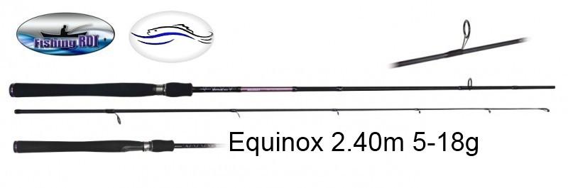 Спиннинг EQUINOX   2.40m 5-18g