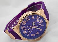 Женские часы - Ulysse Nardin - Le Locle фиолетовые, цвет корпуса золото