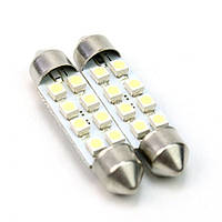 Cветодиодная лампа T11-002(42mm) 3528-8 12V ST
