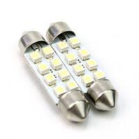Світлодіодна лампа T11-002(42mm) 3528-8 12V ST