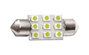 Світлодіодна лампа T11-003(36mm) 3528-9 12V ST