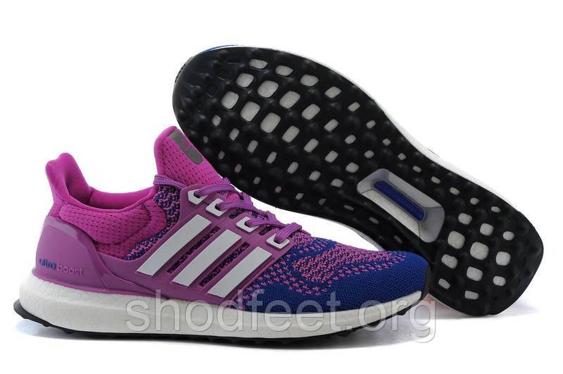 Женские кроссовки Adidas Ultra Boost Blue/Purple