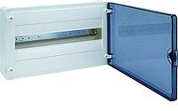 Щит наружной установки с прозрачной дверью, 18 мод. Hager GOLF VS118TD