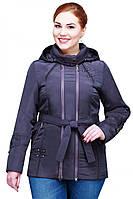 Весенняя куртка для женщин большие размеры