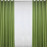 Классические шторы на люверсах