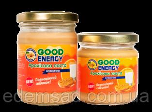 """Классическая арахисовая паста """"Good Energy"""", 250г"""