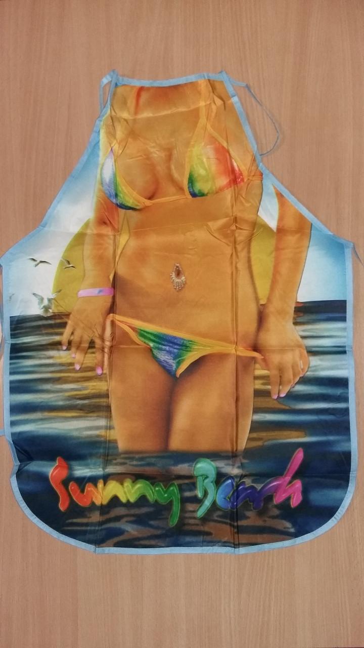Фартук с принтом Королева пляжа