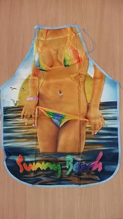 Фартук с принтом Королева пляжа, фото 2