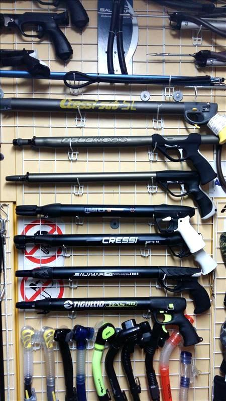 Пневматические ружья для подводной охоты в городе Харькове (Скуба Шоп)