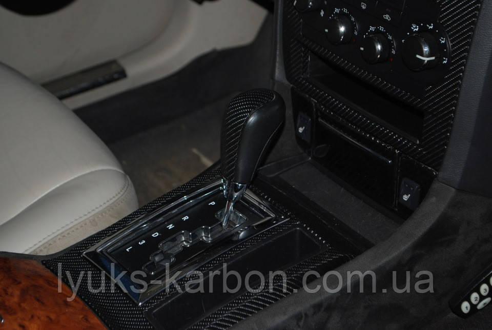 Карбонова плівка 6D чорна