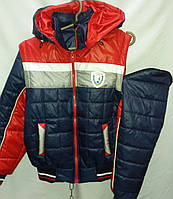 Куртка-жилетка для мальчика на весну 3242