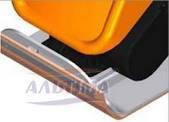 Поліуретанова подушка до виброплите ZEN 16/20 (400 х 600мм ), фото 1