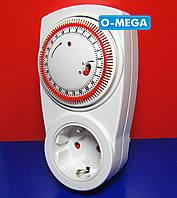 Таймер времени Lemanso LM6341 (LM670) механический суточный 16A