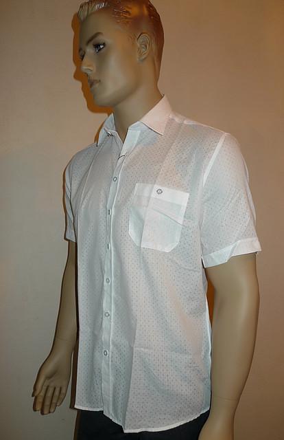 Белая легкая рубашка AYGEN