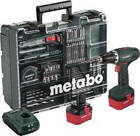 Шуруповерт METABO BS 12 NiCd (набор аксессуаров, 74шт) 602194880