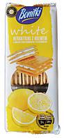 Печенье BONITKI White 216г Бонитки белые лимонные