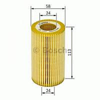 Фильтр масляный Рено Мастер III 2.3dCi (Высота:113мм) 2010> BOSCH (Германия) F026407014