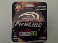 Шнур плетеный FireLine(Berkley) США желтый 0.10,0.12,0.15,0.17