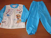 Детский костюмчик для маленького мальчика Собачка 74,80  см Турция