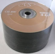 "Диски VS CD-RW 700MB Bulk""50"" 12x золотистый"