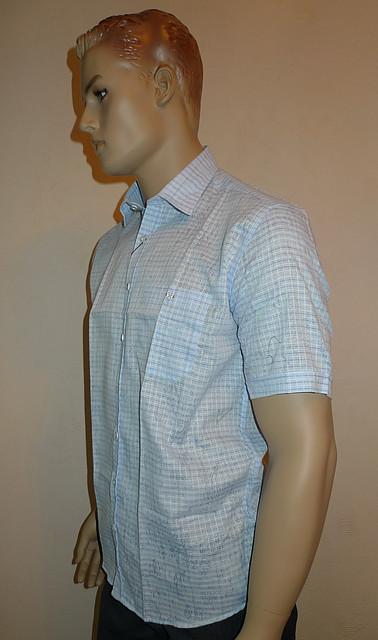 Голубая легкая рубашка AYGEN