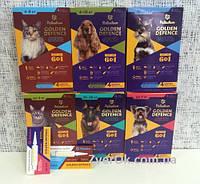 Голден дефенс для собак капли 20-30 кг  антигельминтик 1 ПИПЕТКА