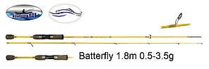 Спиннинг BUTTERFLY B-SDS-602XUL 1.8m 0.5-3.5g